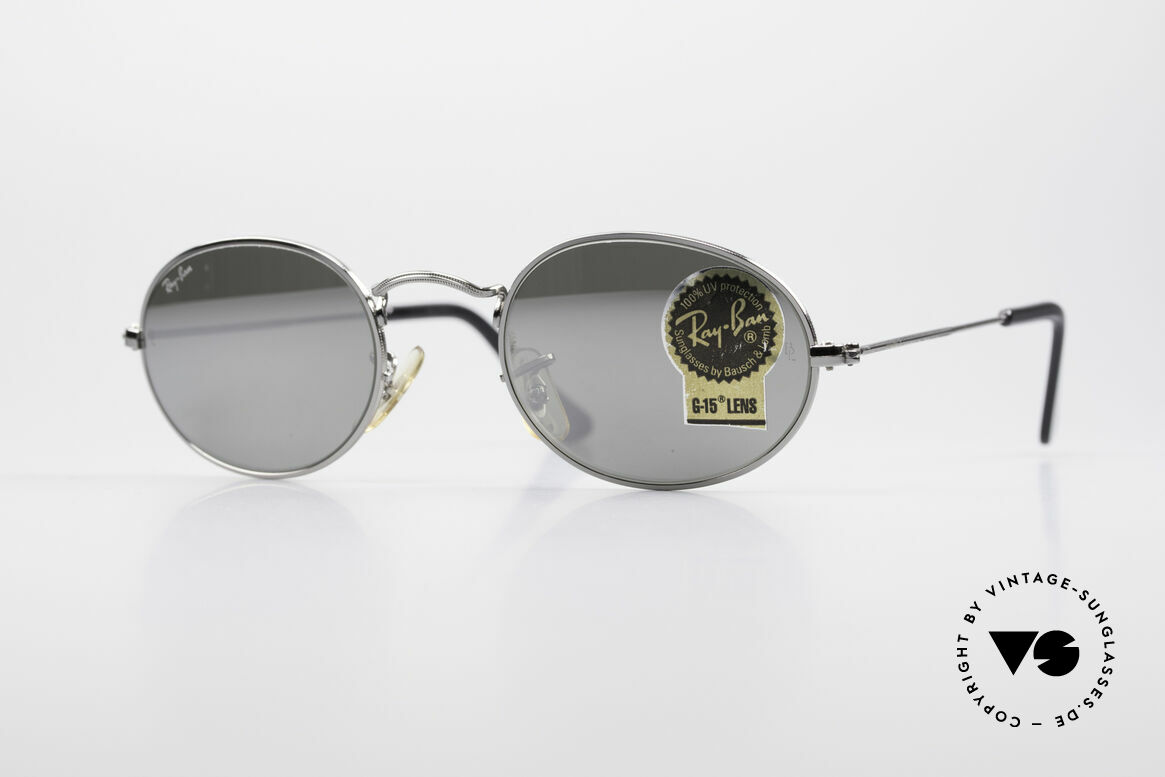Ray Ban Classic Style I Mirrored B&L USA Sunglasses, model of the old RAY-BAN 'Classic Collection', Made for Men and Women