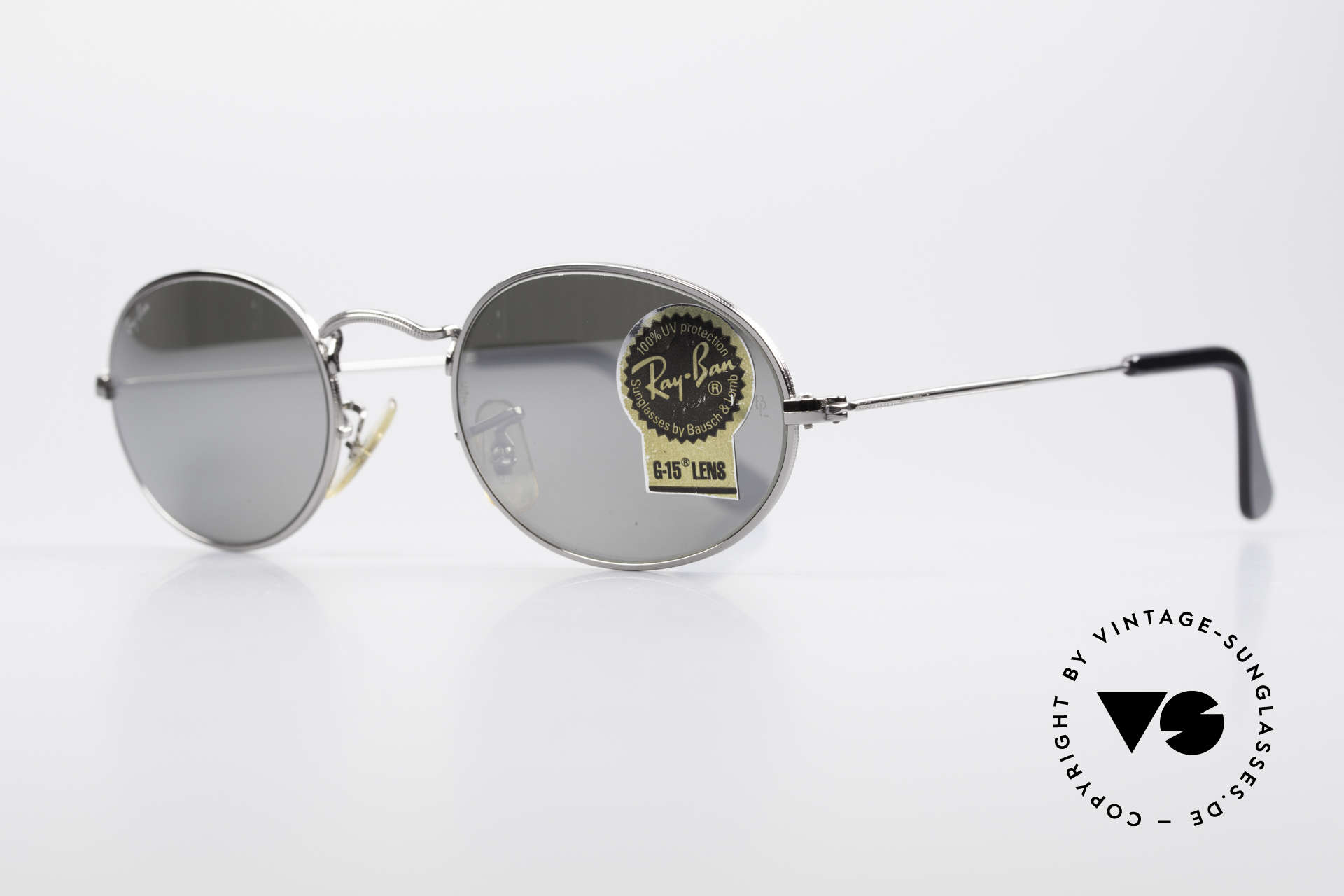 Ray Ban Classic Style I Mirrored B&L USA Sunglasses, best quality by Bausch&Lomb (B&L), 100% UV, Made for Men and Women