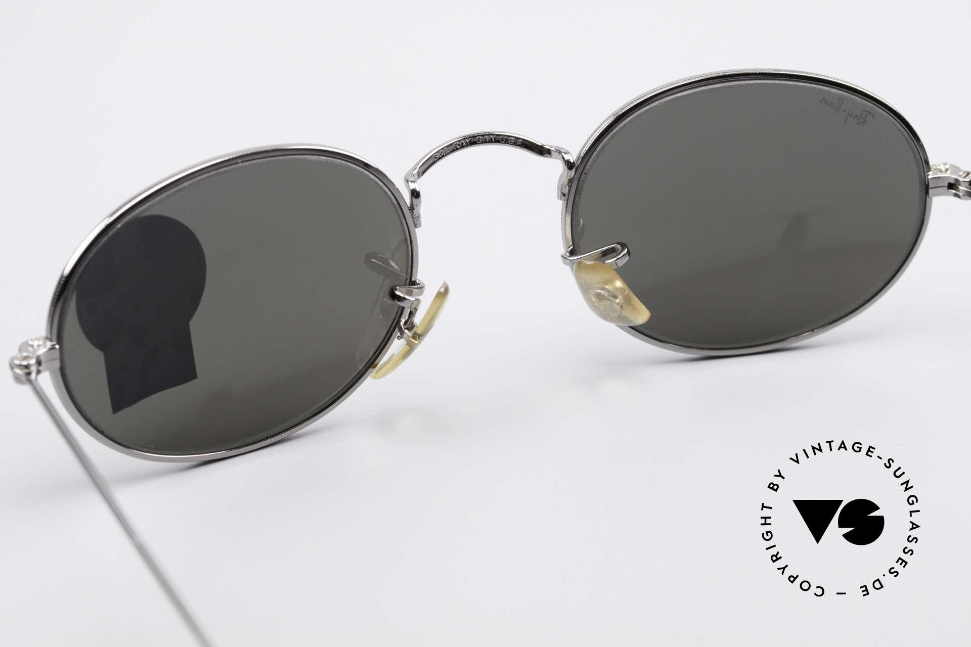 Ray Ban Classic Style I Mirrored B&L USA Sunglasses, NO retro sunglasses, but a rare old USA original, Made for Men and Women