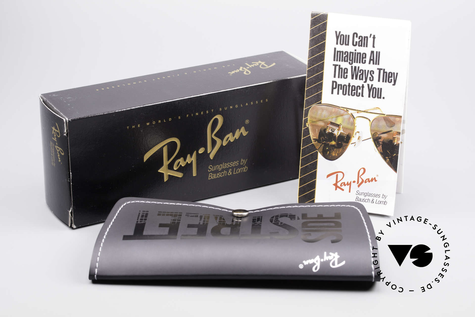 Ray Ban Classic Style I Mirrored B&L USA Sunglasses, RB name: W2459, gunmetal, full mirrored silver, Made for Men and Women