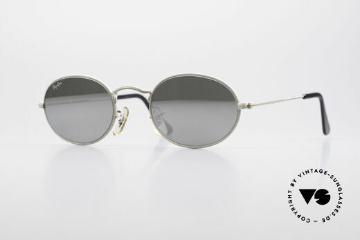 Ray Ban Classic Style I Silver Mirrored Sunglasses Details