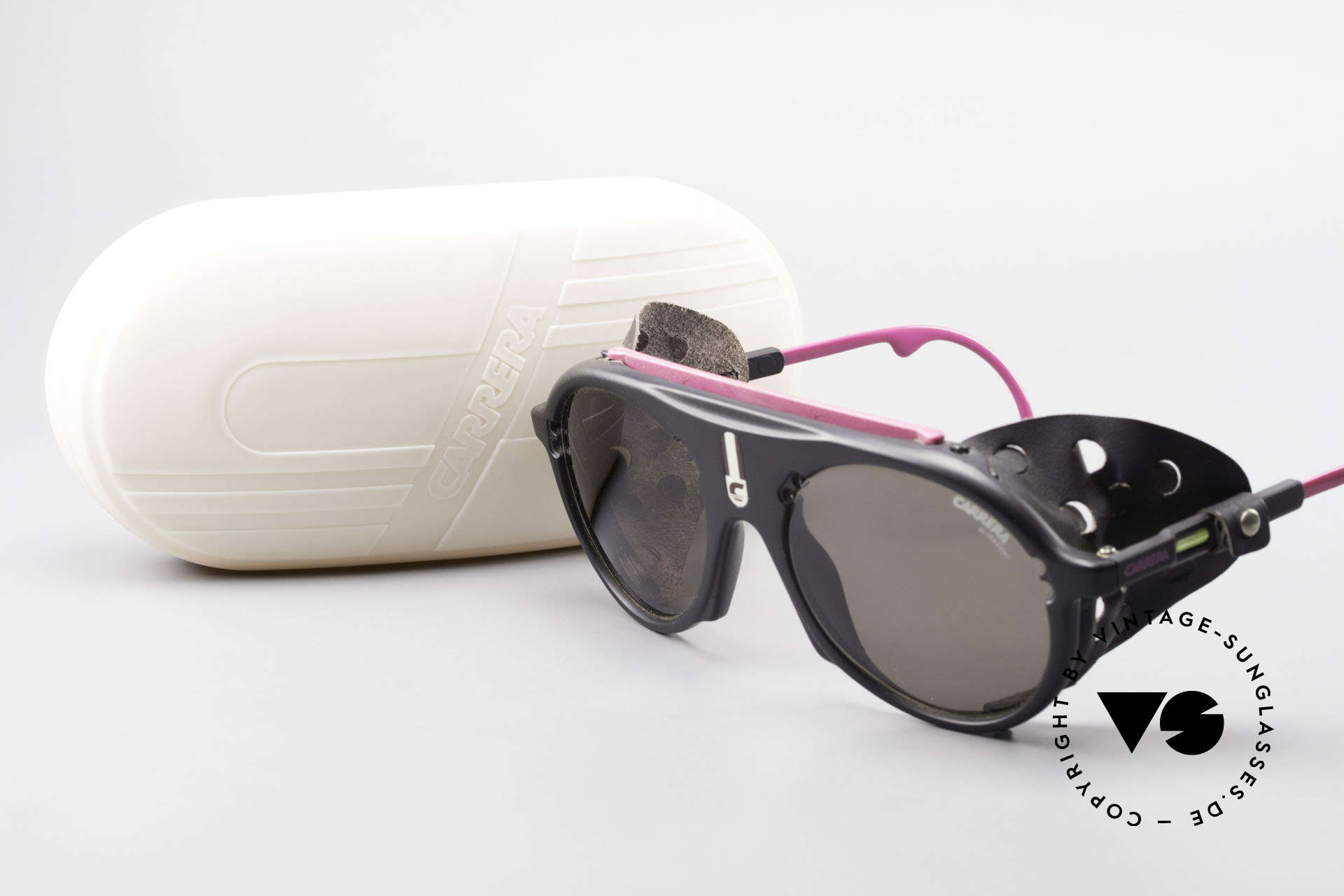 Carrera 5436 Water & Ice Glacier Shades, NO retro shades; a rare old 80's original (incl. case), Made for Men and Women