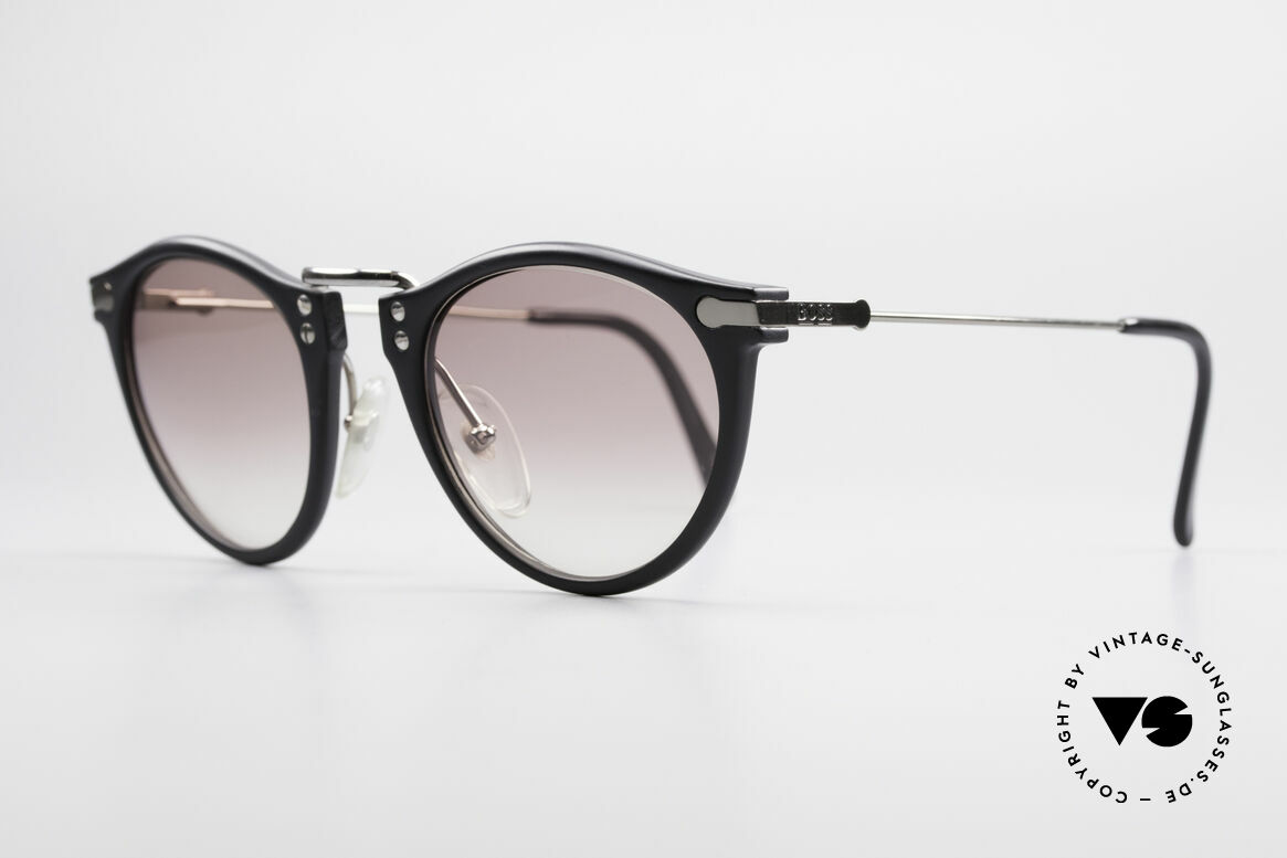 BOSS 5152 - S Panto Style Sunglasses Small, cooperation between BOSS & Carrera, at that time, Made for Men and Women