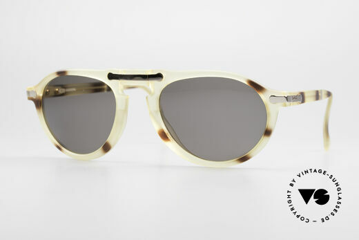 BOSS 5153 Vintage Folding Sunglasses 90's Details