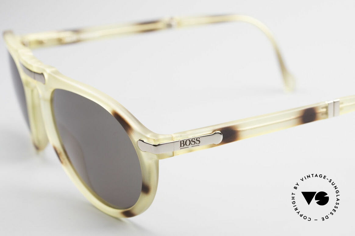 BOSS 5153 Vintage Folding Sunglasses 90's, typical 'Optyl shine' - as brilliant as just produced, Made for Men