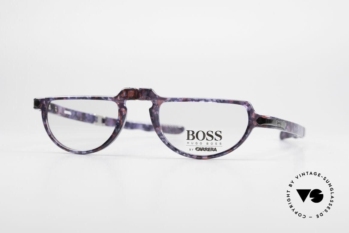 BOSS 5103 Folding Reading Eyeglasses, ingenious 1990's BOSS vintage folding eyeglasses, Made for Men and Women