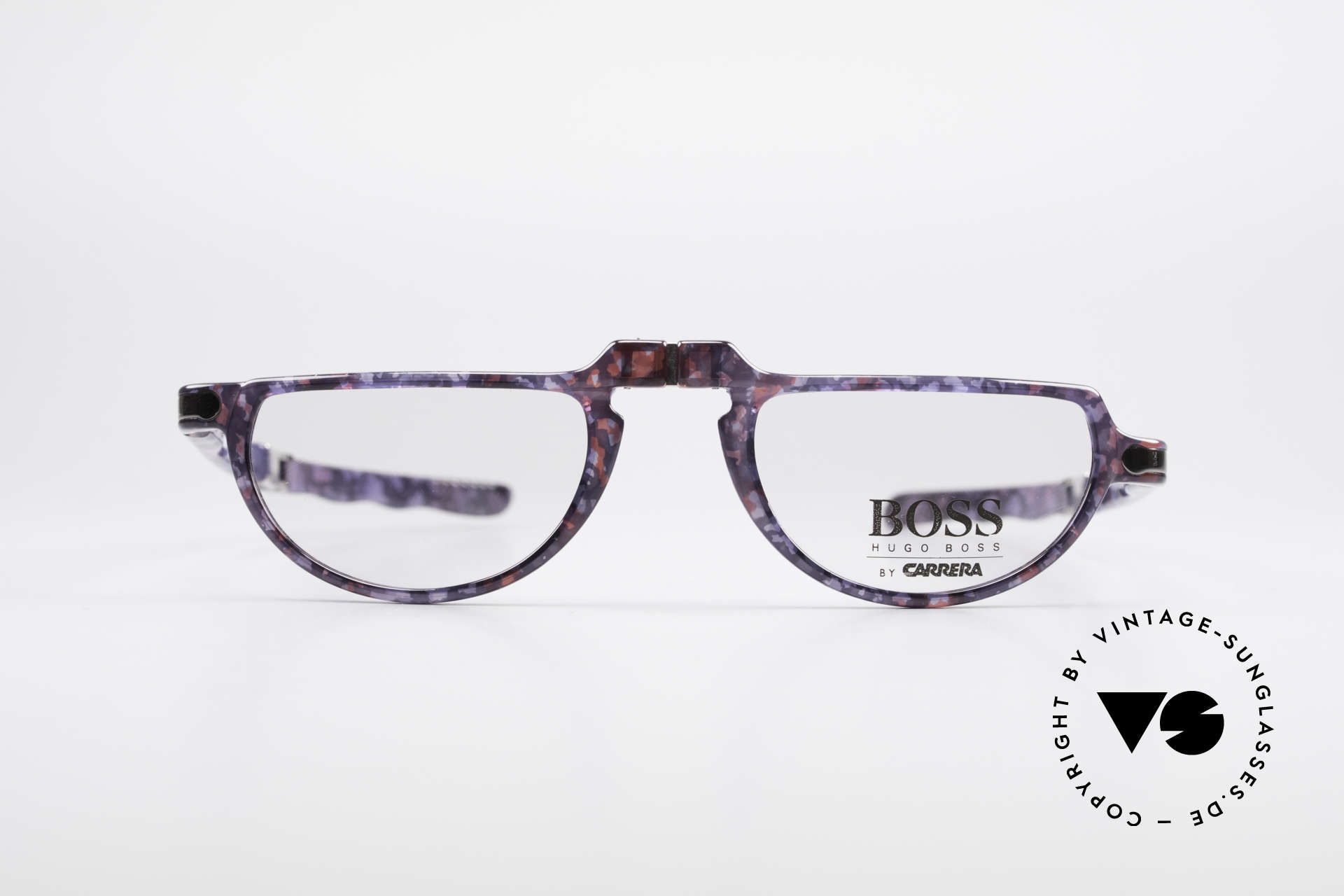BOSS 5103 Folding Reading Eyeglasses, cooperation between BOSS & Carrera, at that time, Made for Men and Women