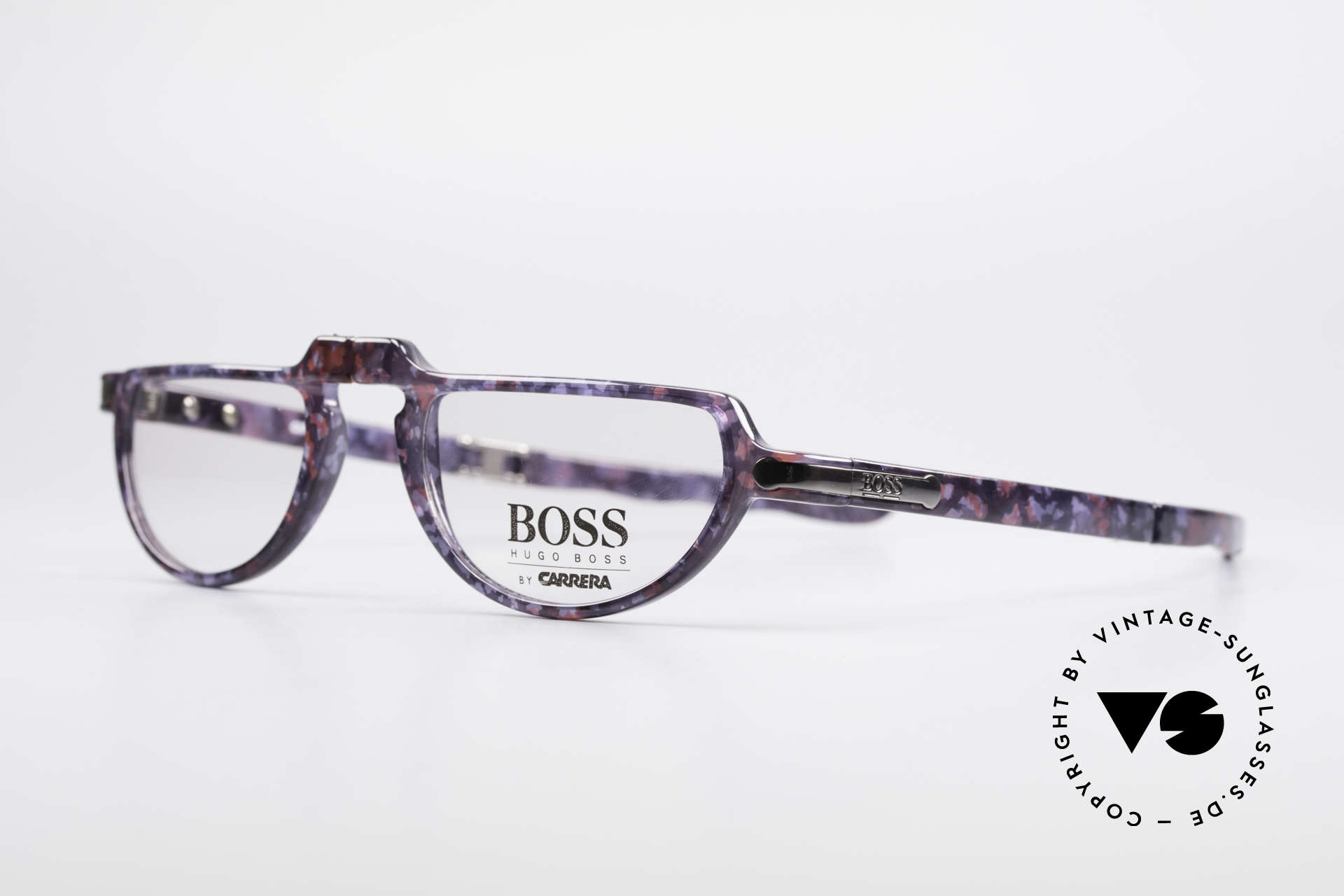 BOSS 5103 Folding Reading Eyeglasses, high-end OPTYL material (lightweight & durable), Made for Men and Women