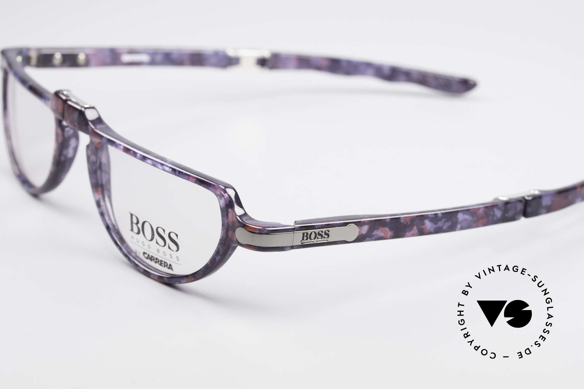 BOSS 5103 Folding Reading Eyeglasses, typical 'Optyl shine' - as brilliant as just produced, Made for Men and Women