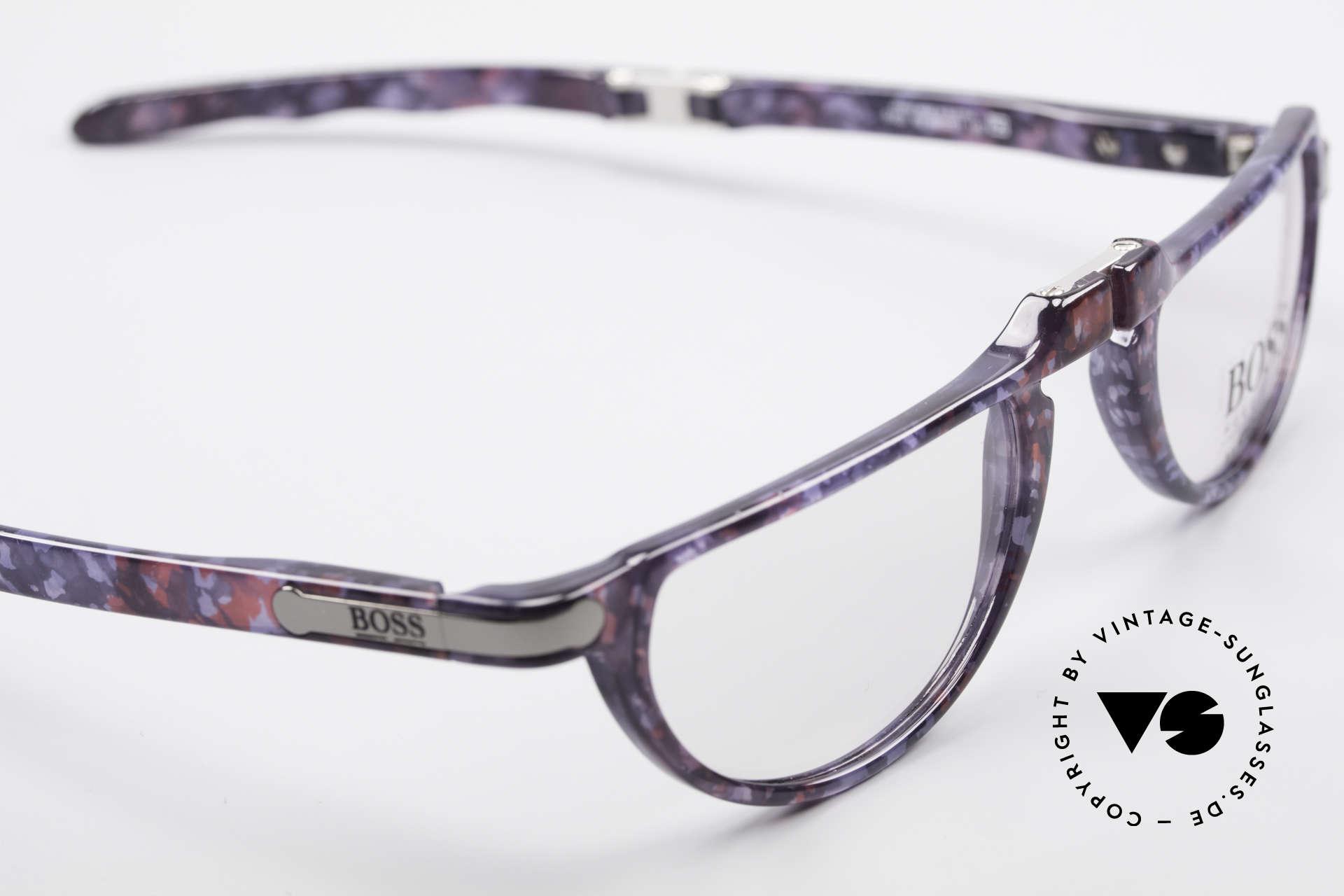 BOSS 5103 Folding Reading Eyeglasses, new old stock (unworn) - incl. a folding hard case, Made for Men and Women