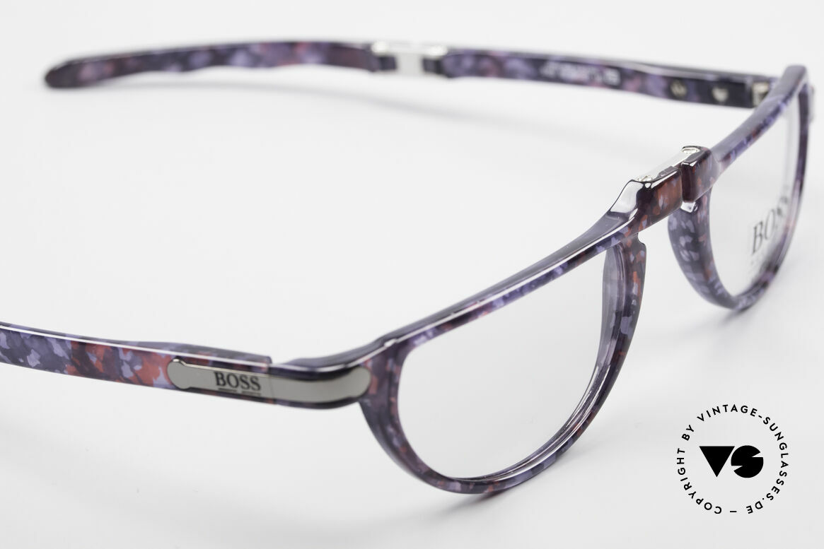 BOSS 5103 Folding Reading Eyeglasses, new old stock (unworn) - incl. a folding hard case, Made for Men and Women