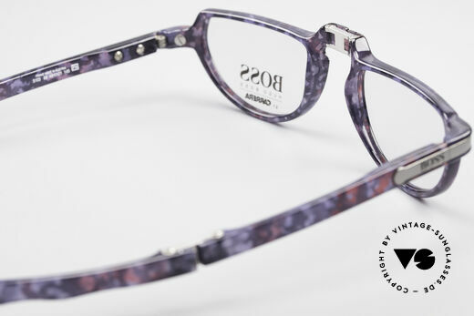 BOSS 5103 Folding Reading Eyeglasses, NO RETRO; an old original with interesting coloring, Made for Men and Women