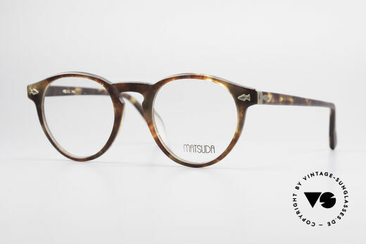 Matsuda 2303 Panto Vintage Eyeglasses Details
