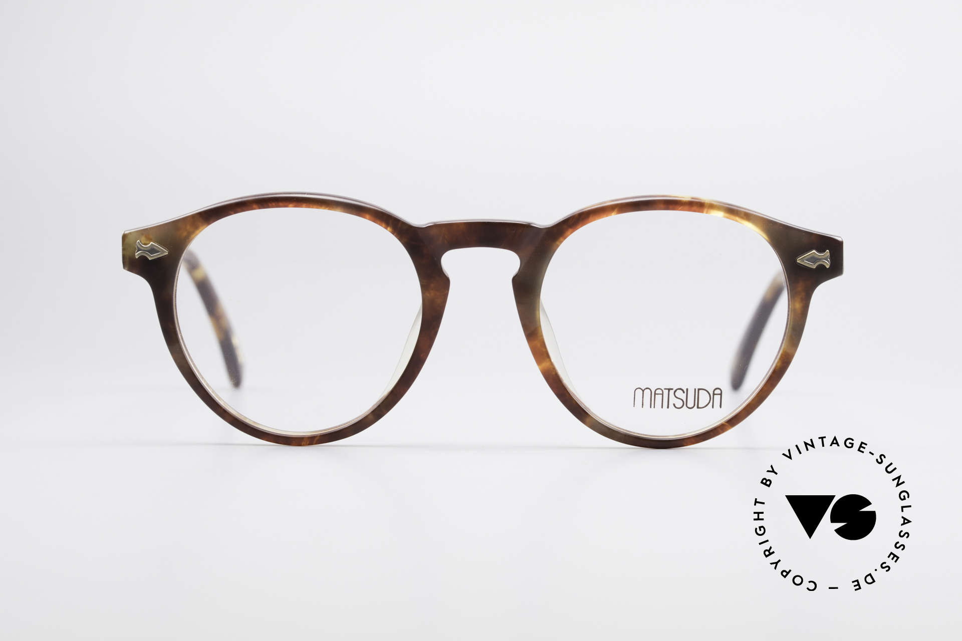 Matsuda 2303 Panto Vintage Eyeglasses, outstanding quality by the Japanese Design manufactory, Made for Men and Women