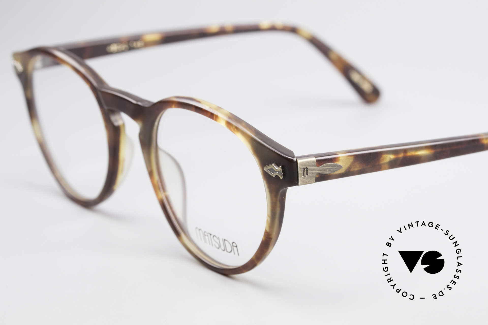 Matsuda 2303 Panto Vintage Eyeglasses, costly engravings / ornamentation (distinctive Matsuda), Made for Men and Women