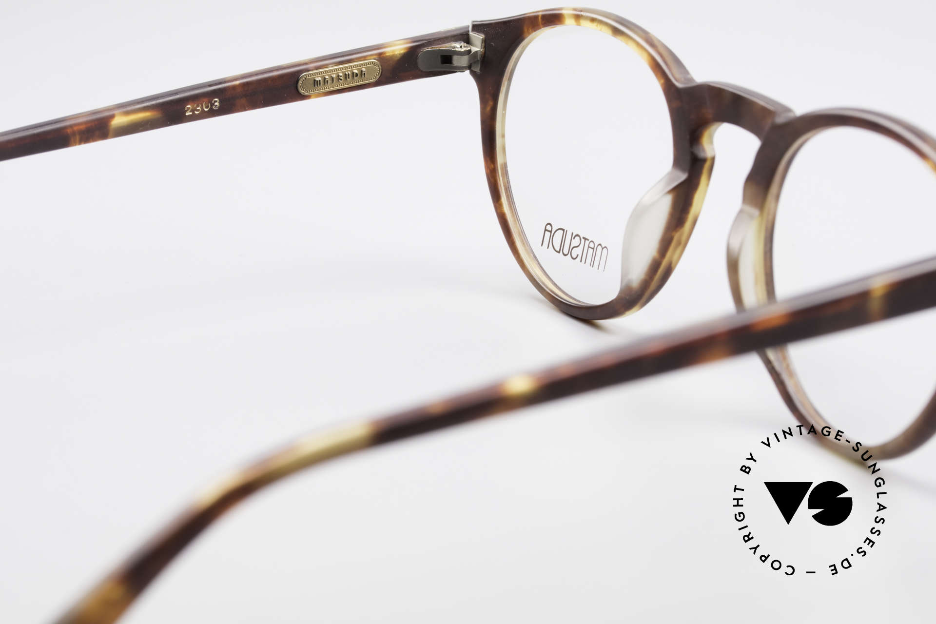 Matsuda 2303 Panto Vintage Eyeglasses, NO retro eyeglasses, but a 20 years old unicum, VERTU!, Made for Men and Women