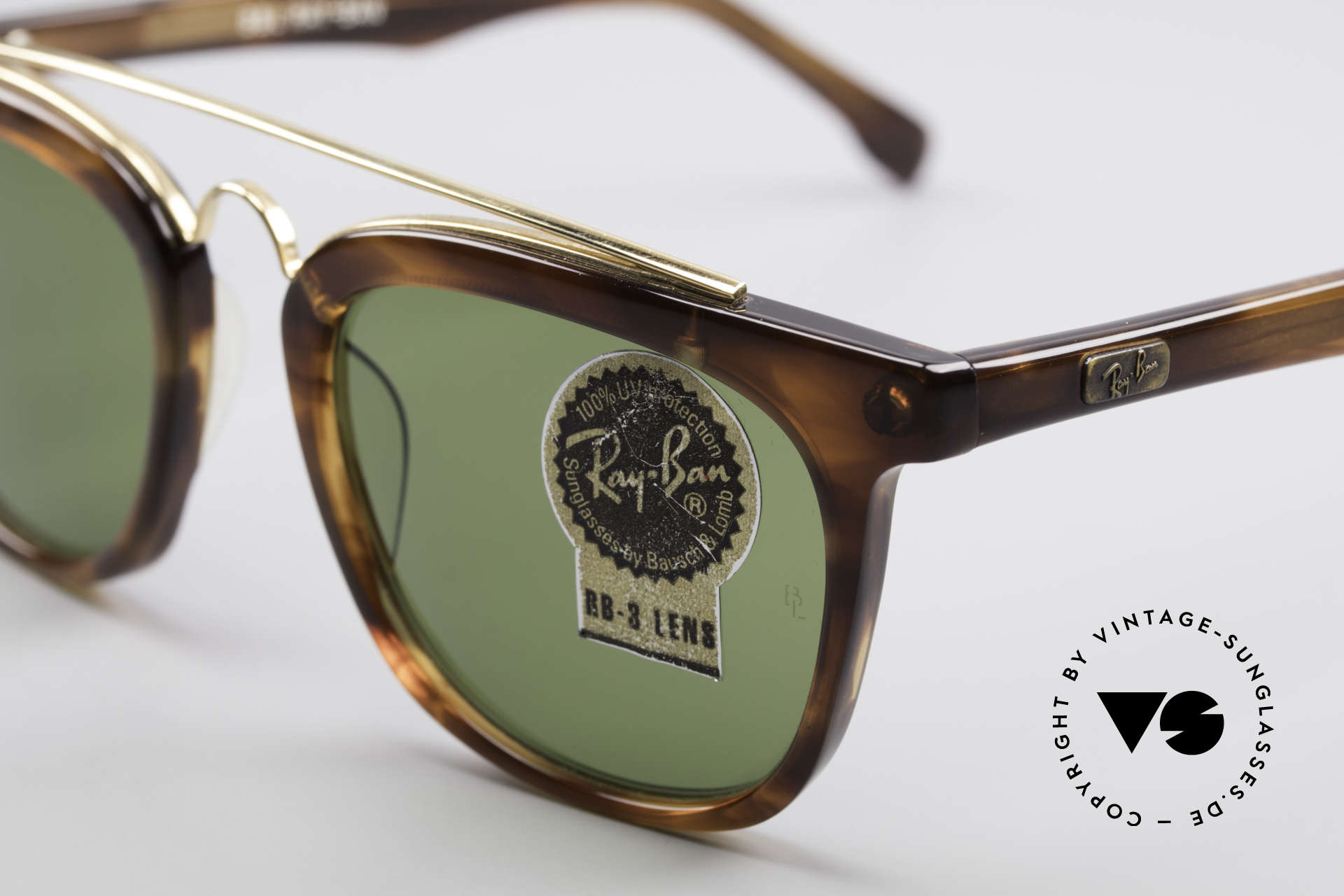 Ray Ban Gatsby Style 5 B&L Bausch Lomb Sunglasses, B&L Bausch & Lomb quality lenses (100% UV), Made for Men and Women