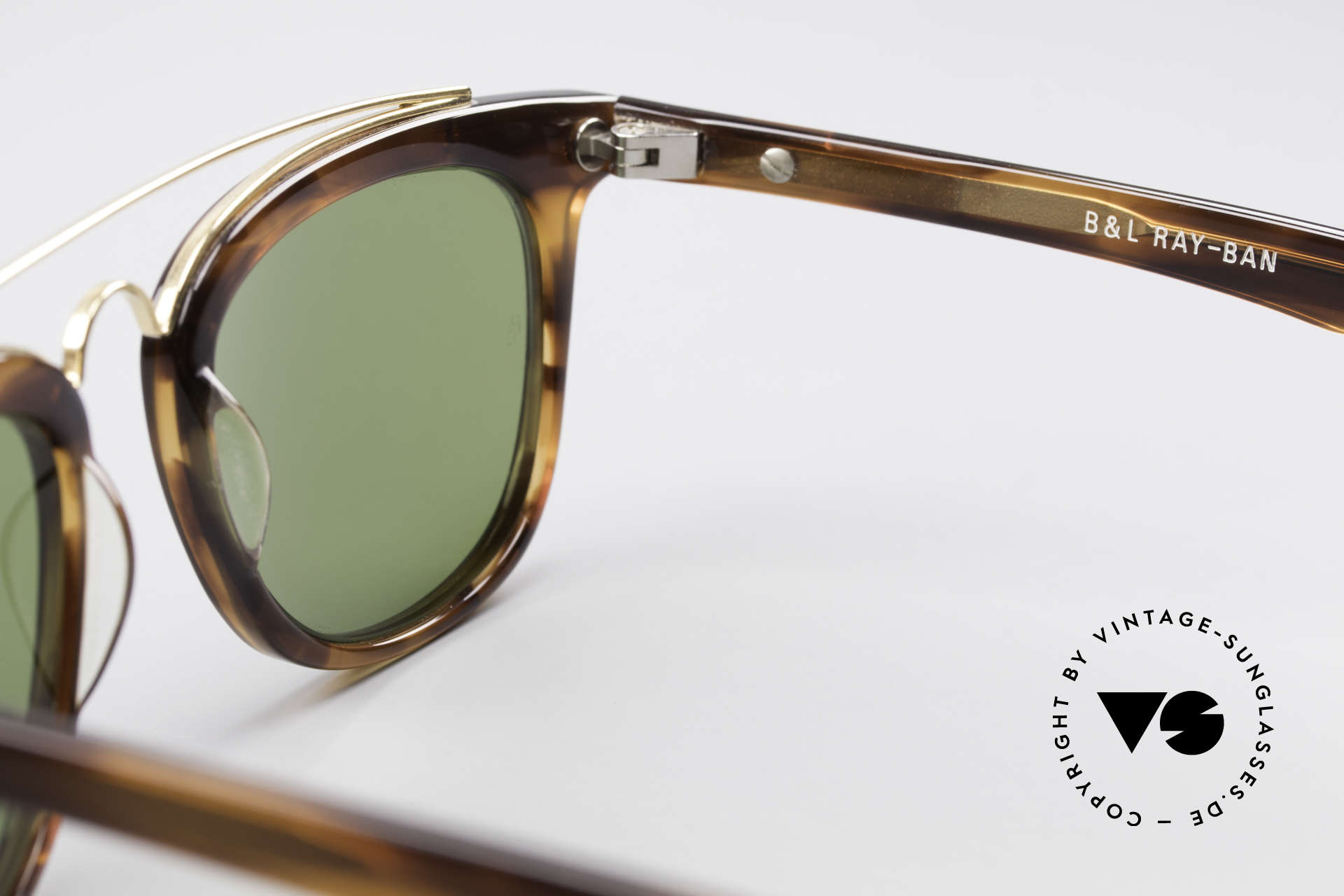 Ray Ban Gatsby Style 5 B&L Bausch Lomb Sunglasses, unworn (like all our vintage RAY-BAN Gatsby), Made for Men and Women