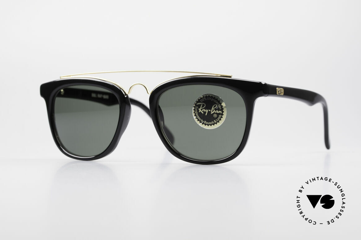 Ray Ban Gatsby Style 5 USA Bausch Lomb Sunglasses, RAY-BAN Gatsby Style 5 Combo Square shades, Made for Men and Women
