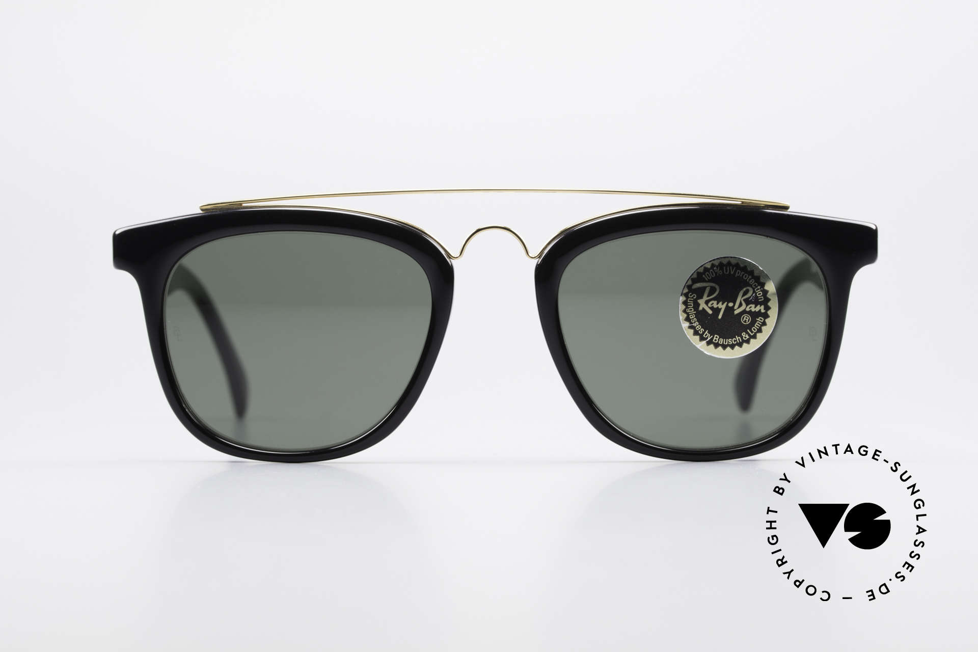 Ray Ban Gatsby Style 5 USA Bausch Lomb Sunglasses, vintage Ray Ban USA sunglasses of the 1990's, Made for Men and Women