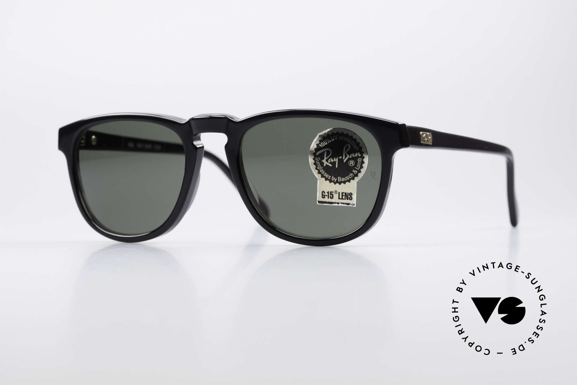 Ray Ban Gatsby Style 2 Old Ray Ban USA Sunglasses, classic vintage Ray Ban designer sunglasses, Made for Men and Women