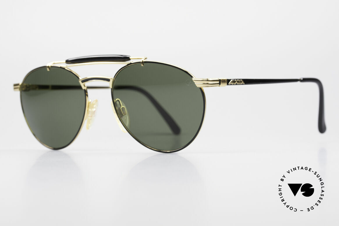 Alpina THE NEW MAN Rare 90's Aviator Sunglasses