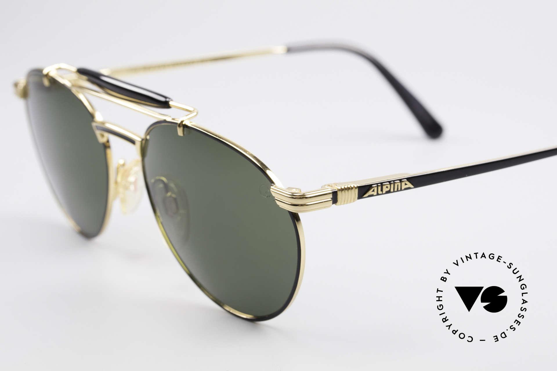 2e8e9004e6 Sunglasses Alpina THE NEW MAN Rare 90 s Aviator Sunglasses