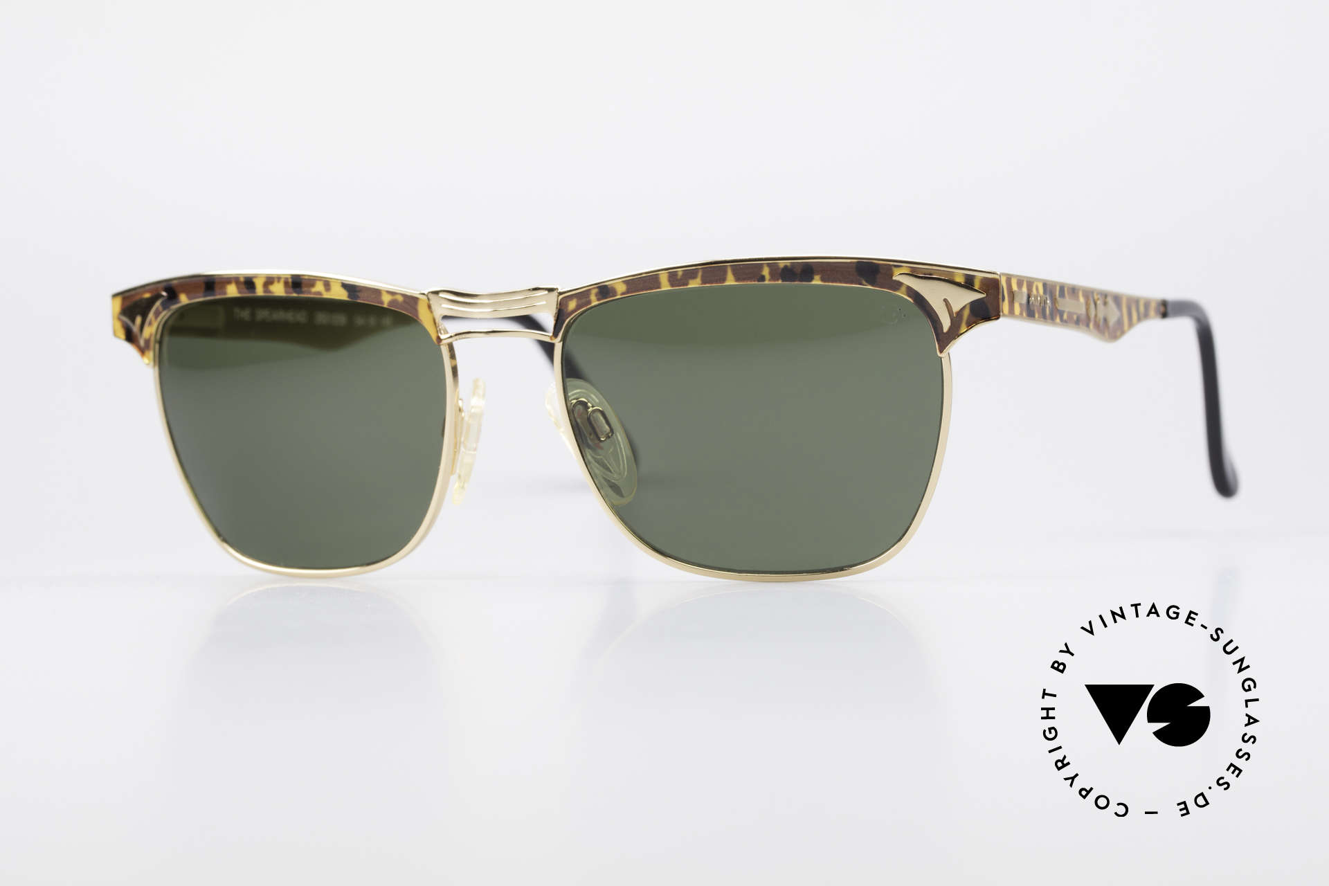 Alpina THE SPEARHEAD 90's No Retro Sunglasses, classic vintage sunglasses by Alpina from 1995, Made for Men and Women