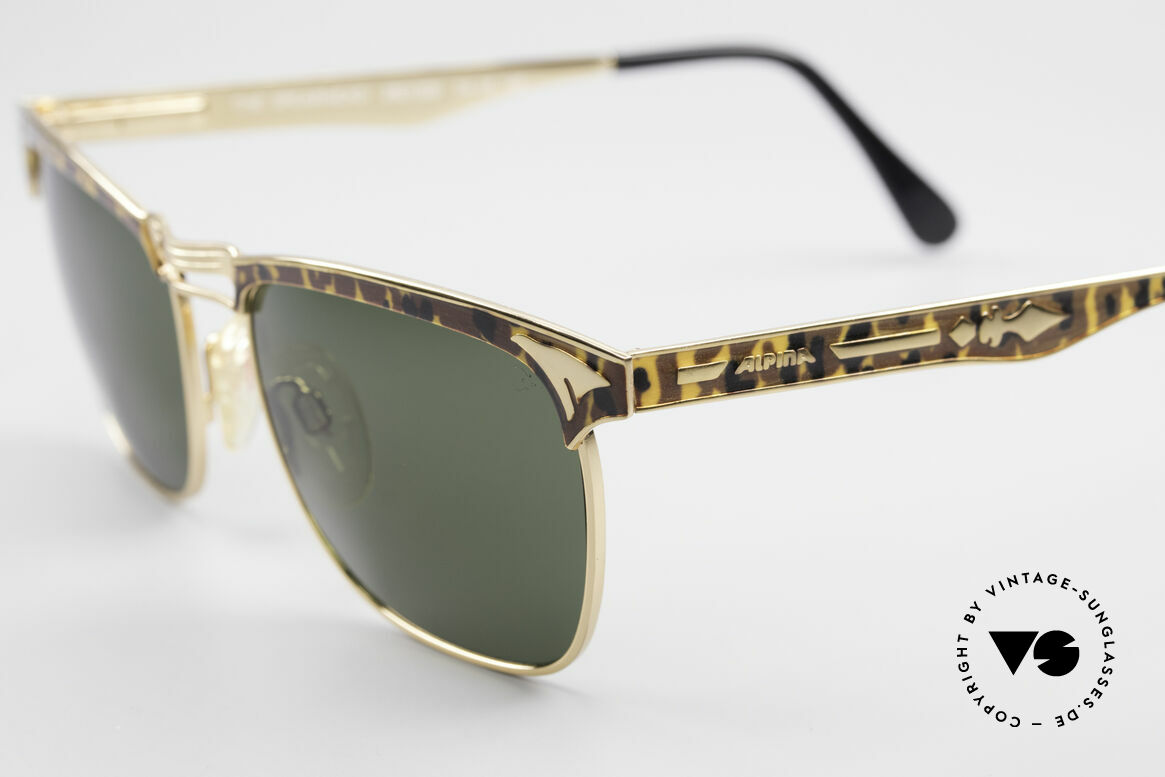 Alpina THE SPEARHEAD 90's No Retro Sunglasses, unworn (like all our vintage ALPINA sunglasses), Made for Men and Women