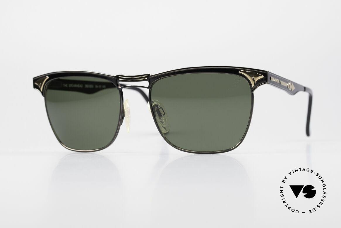 Alpina THE SPEARHEAD No Retro Sunglasses 1990's, classic vintage sunglasses by Alpina from 1995, Made for Men and Women