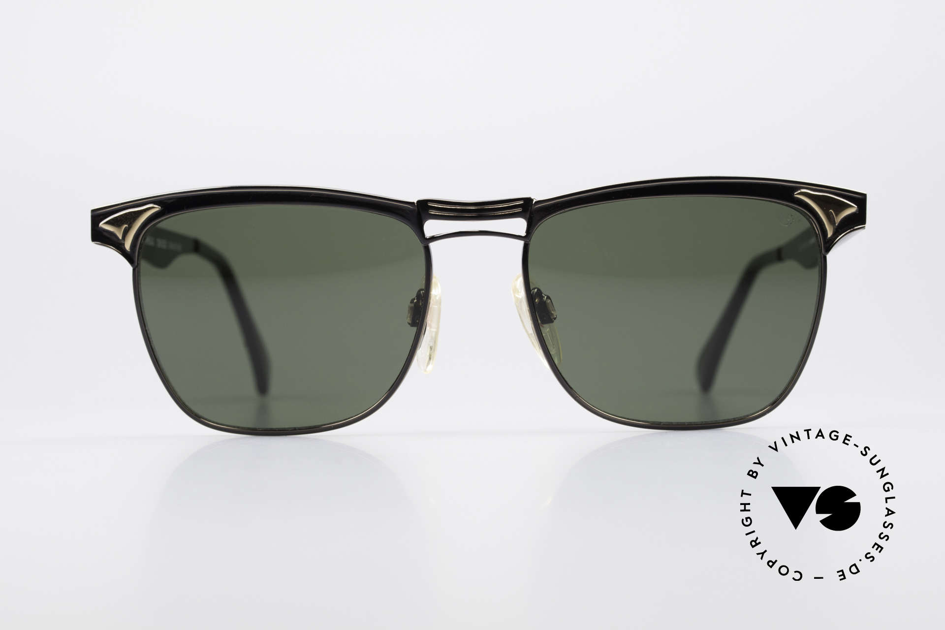 Alpina THE SPEARHEAD No Retro Sunglasses 1990's, 1st class wearing comfort due to spring hinges, Made for Men and Women