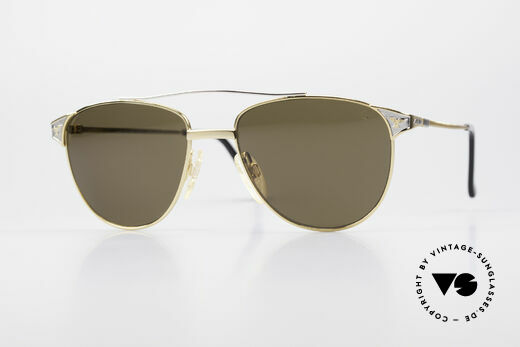 Alpina THE SHERIFF Old Aviator Sunglasses 90's Details