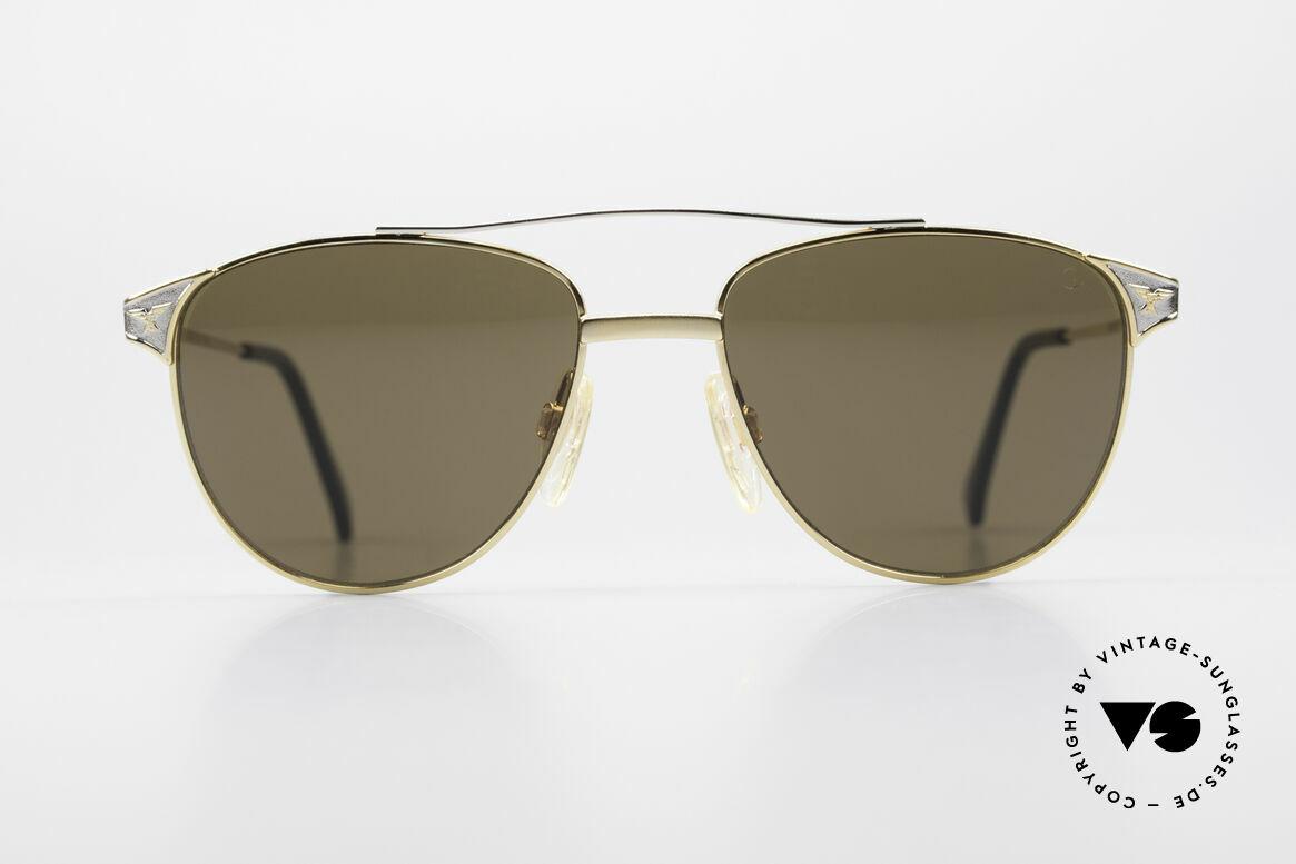 Alpina THE SHERIFF Old Aviator Sunglasses 90's