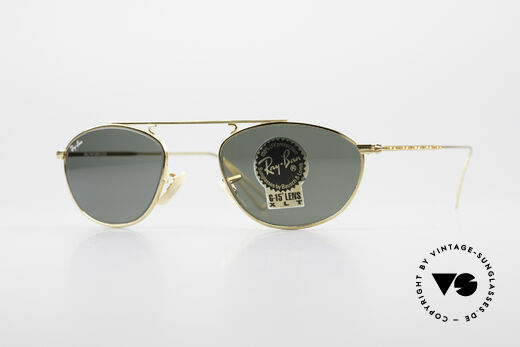 Ray Ban Modified Aviator Old USA Ray-Ban Sunglasses Details