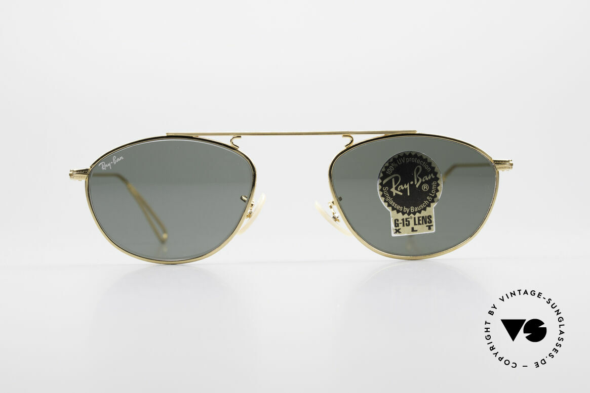 Ray Ban Modified Aviator Old USA Ray-Ban Sunglasses, precious old original by Bausch&Lomb (made in USA), Made for Men and Women