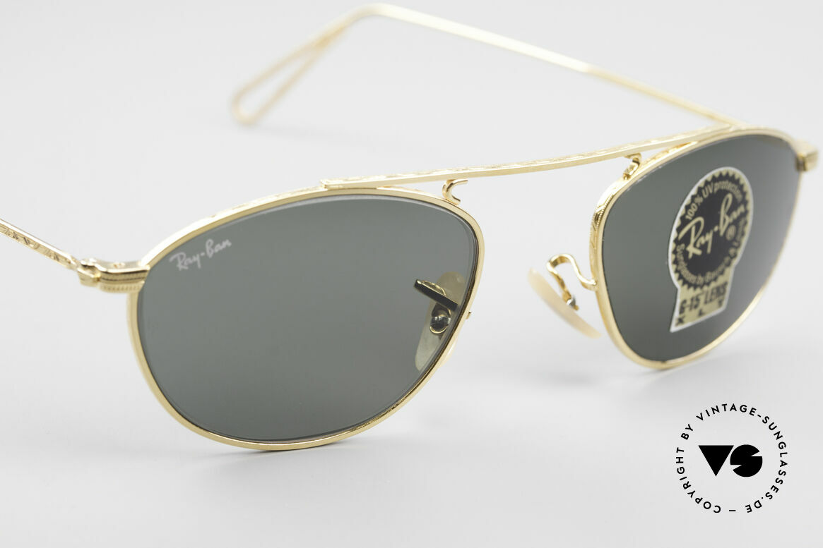 Ray Ban Modified Aviator Old USA Ray-Ban Sunglasses, NO RETRO sunglasses; but an rare old B&L ORIGINAL, Made for Men and Women