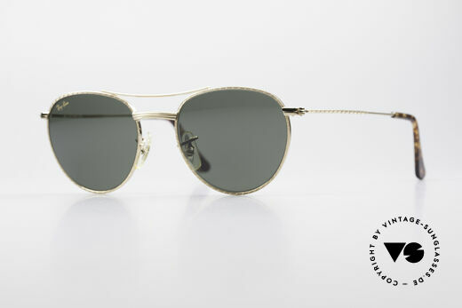 Ray Ban 1940's Retro Round Old Ray-Ban USA Bausch&Lomb Details