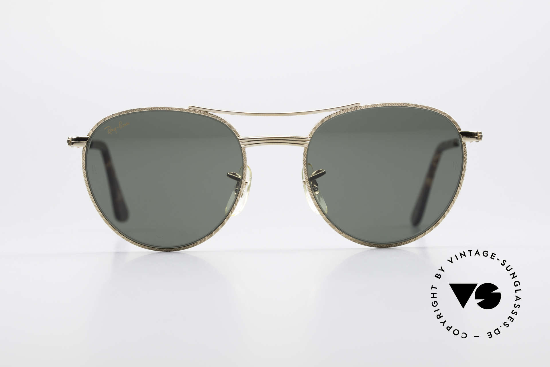 f95e441477e2 Sunglasses Ray Ban 1940 s Retro Round Old Ray-Ban USA Bausch Lomb ...