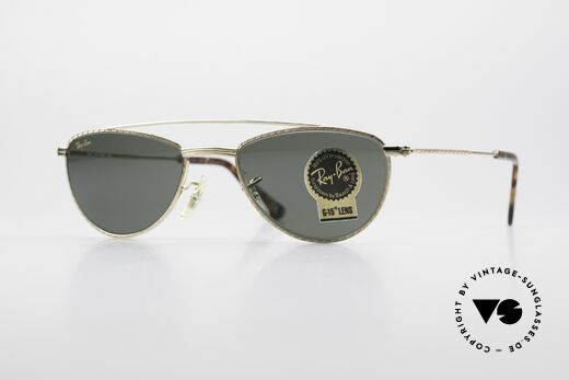 Ray Ban 1940's Retro Aviator Old Bausch&Lomb Ray-Ban USA Details