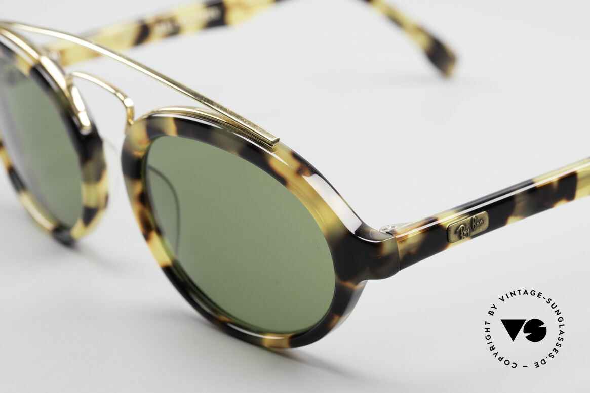 Ray Ban Gatsby Style 6 Old Ray-Ban USA Sunglasses, B&L Bausch & Lomb quality lenses (100% UV), Made for Men and Women