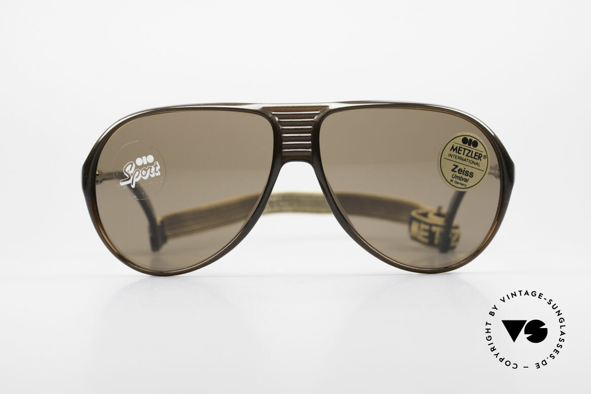 Metzler 0153 Rare 80's Sports Sunglasses, Metzler 'sport design' sunglasses from the early 1980's, Made for Men