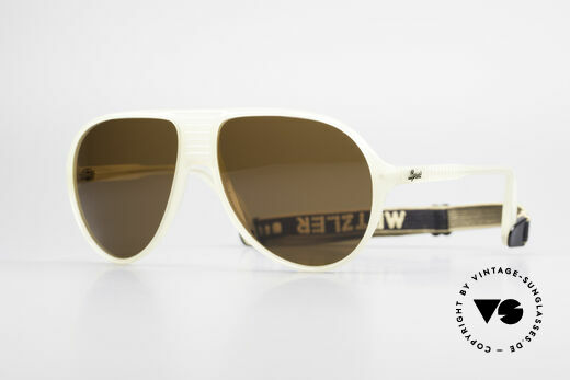 Metzler 0102 True Vintage 80's Sports Shades Details