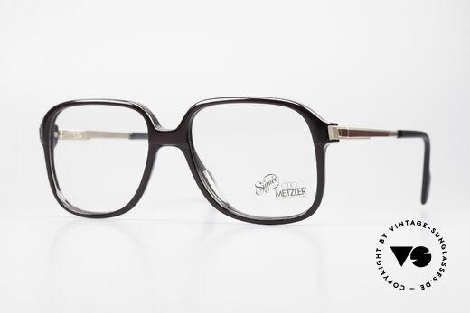 Metzler 0364 No Retro Glasses 80's Vintage Details