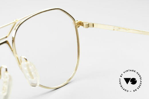 Zeiss 5897 West Germany 80's Eye Frame, NO RETRO frame, but a genuine 35 years old original!, Made for Men