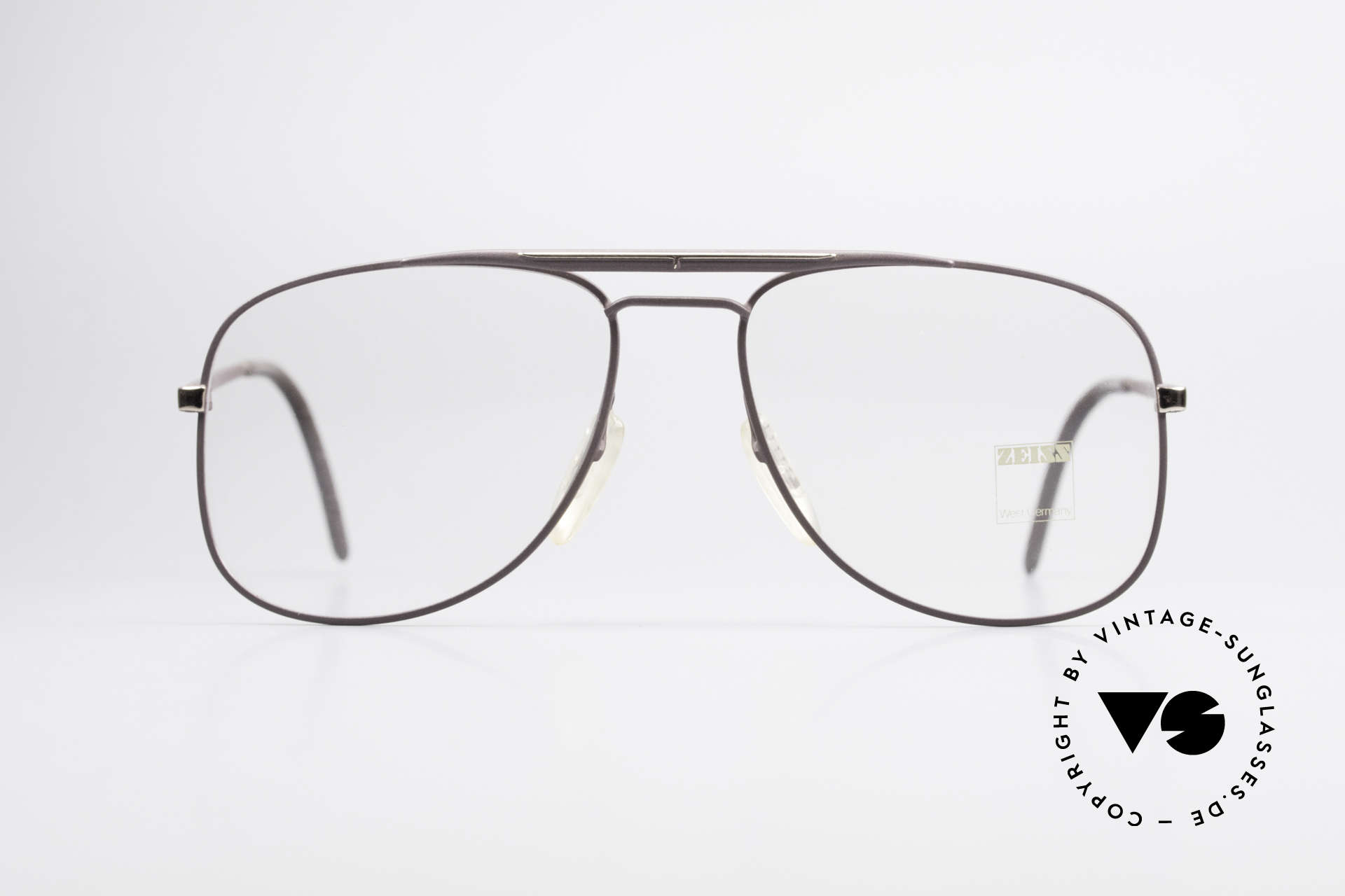 Zeiss 5886 Old 80's Eyeglass-Frame Men, outstanding 'MADE IN W. GERMANY' craftsmanship, Made for Men
