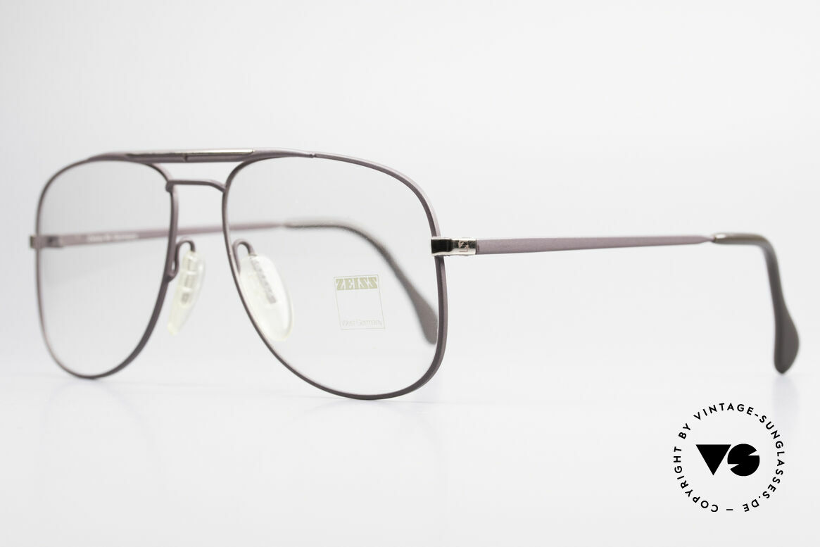 Zeiss 5886 Old 80's Eyeglass-Frame Men, monolithic design (built to last) You must feel this!, Made for Men