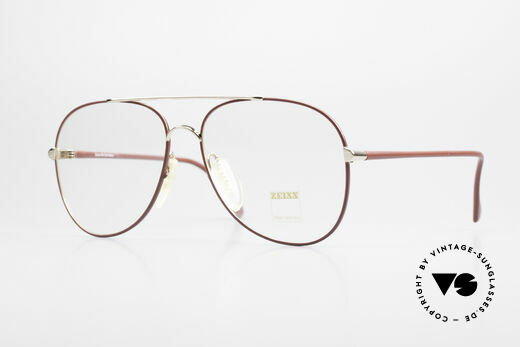 Zeiss 5882 Old 80's Eyeglass-Frame Men Details
