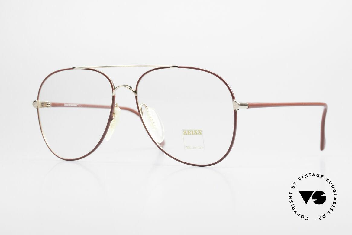 Zeiss 5882 Old 80's Eyeglass-Frame Men, sturdy vintage eyeglass-frame by ZEISS from 1986, Made for Men