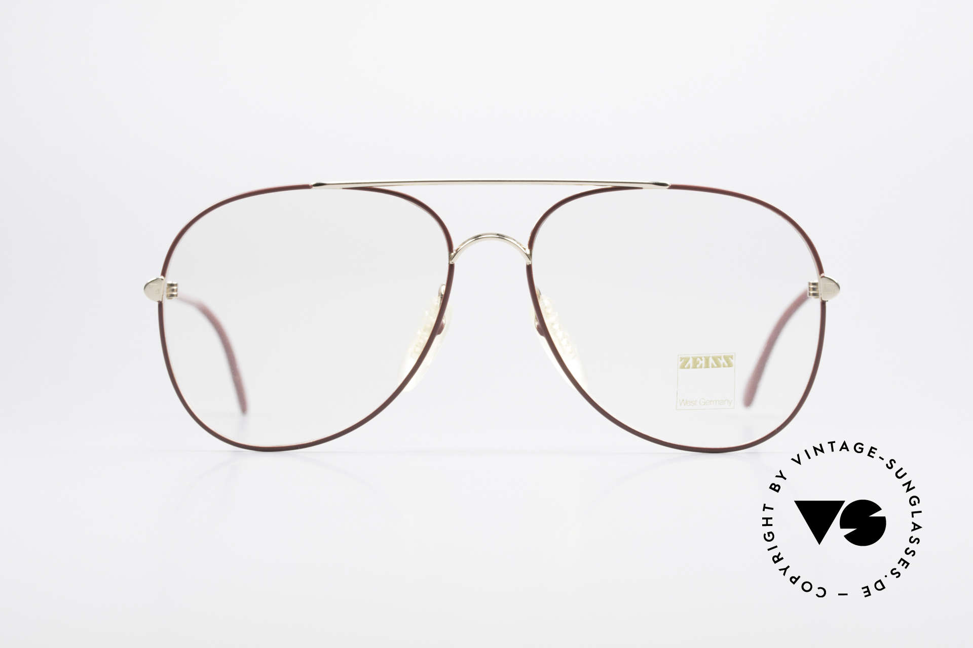Zeiss 5882 Old 80's Eyeglass-Frame Men, outstanding 'MADE IN W. GERMANY' craftsmanship, Made for Men