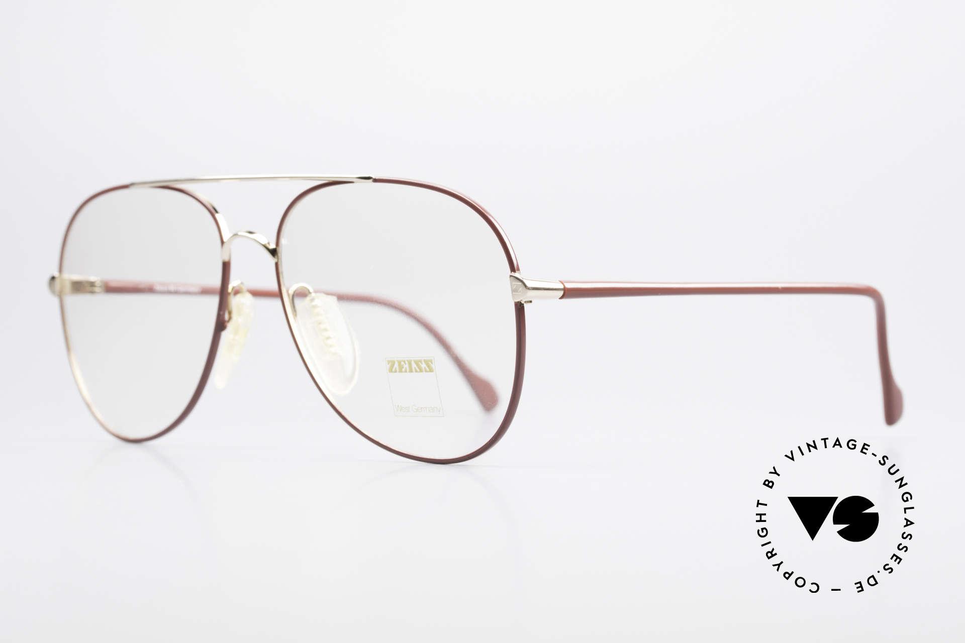 Zeiss 5882 Old 80's Eyeglass-Frame Men, monolithic design (built to last) You must feel this!, Made for Men